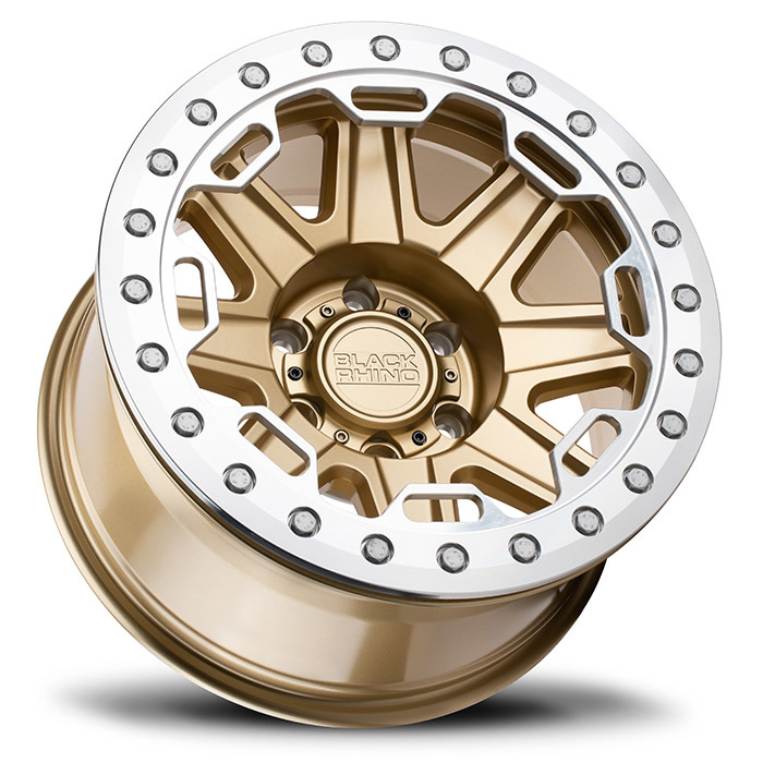 Black Rhino Rift Beadlock  light alloy wheels