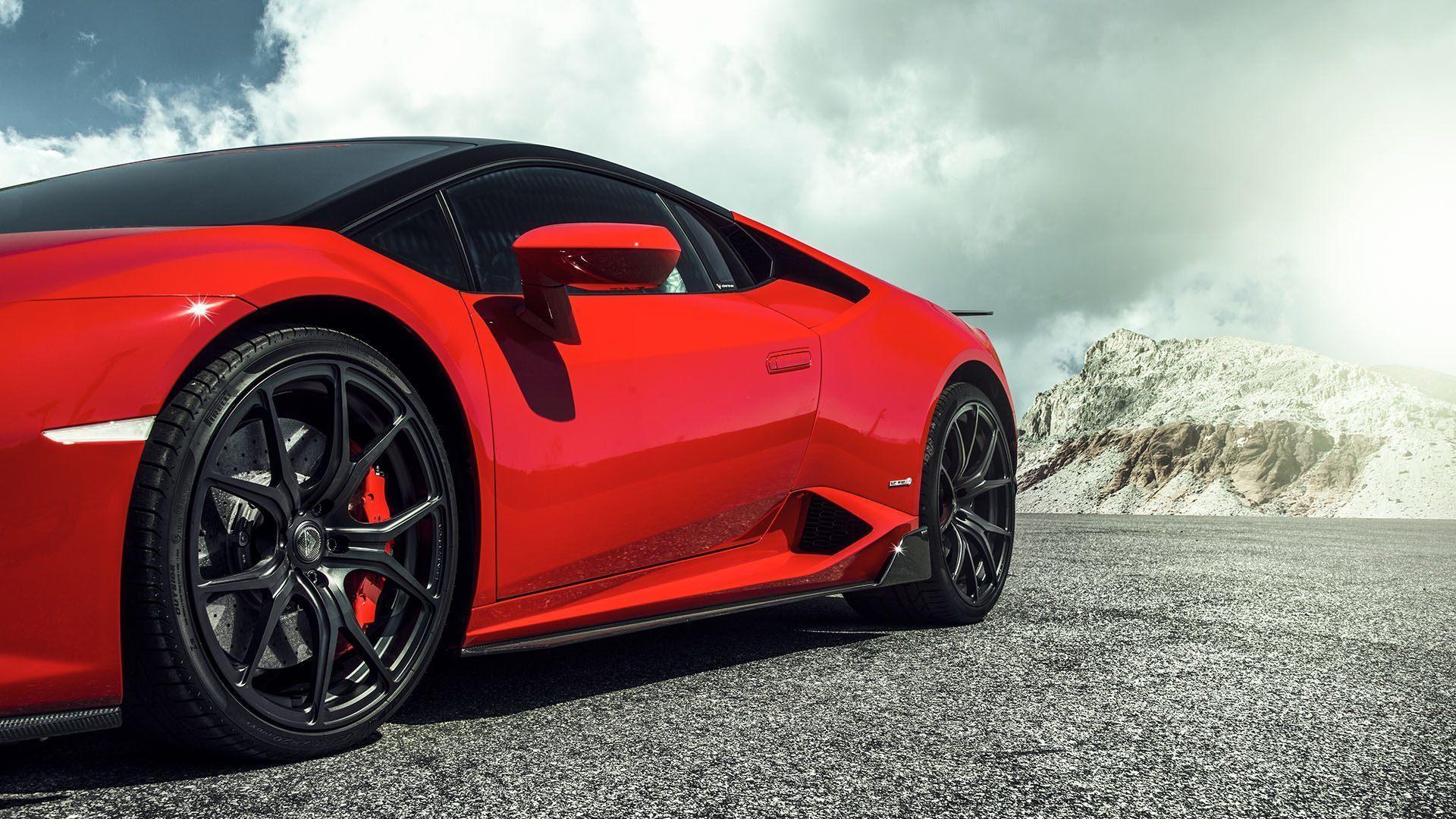 VORSTEINER STYLE CARBON DOOR SILLS for Lamborghini Huracan new model