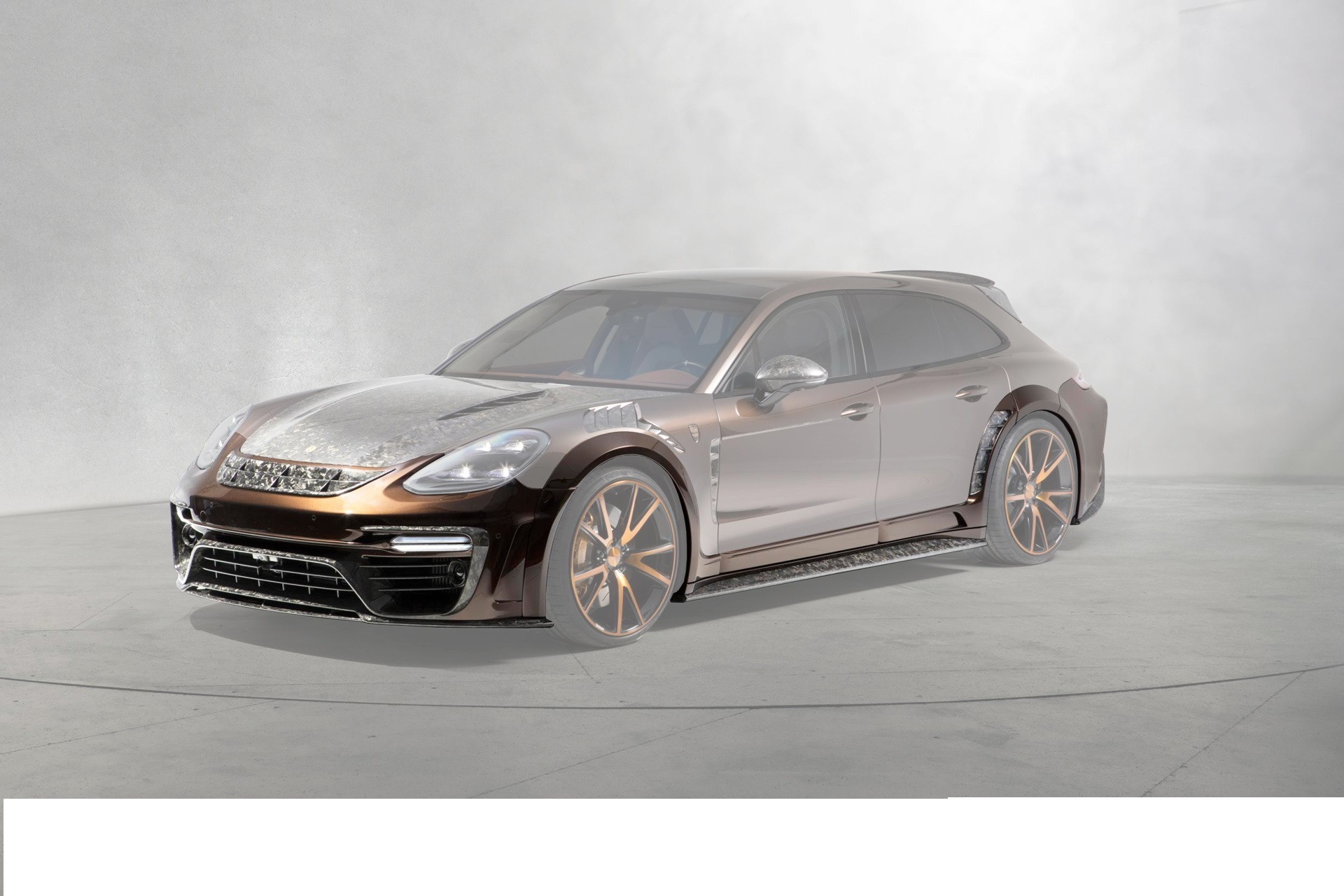 Hodoor Performance Carbon fiber wide body kit (without/with radar) Mansory Style for Porsche Panamera