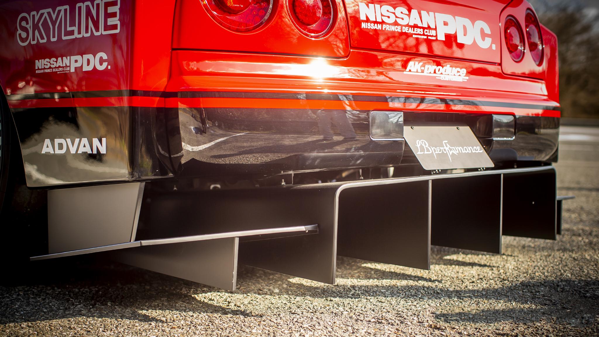 Liberty Walk  body kit for Nissan ER34 Super Silhouette Skyline latest model