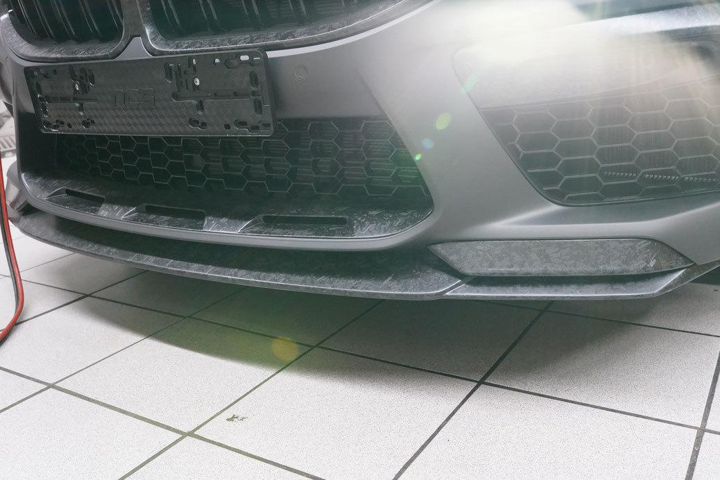 Hodoor Performance Carbon fiber front lip for BMW M8