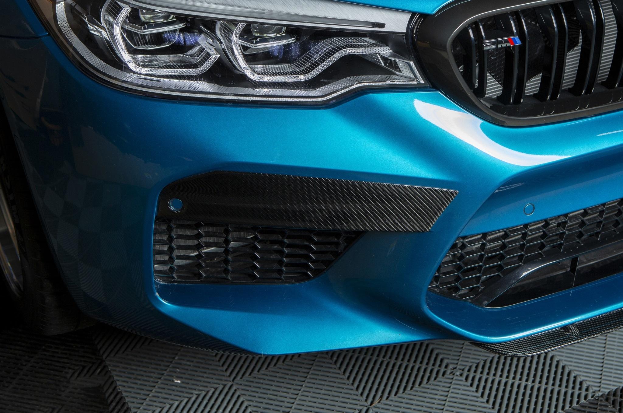 Sterckenn Carbon Fiber bumper inserts for BMW M5 F90 new model