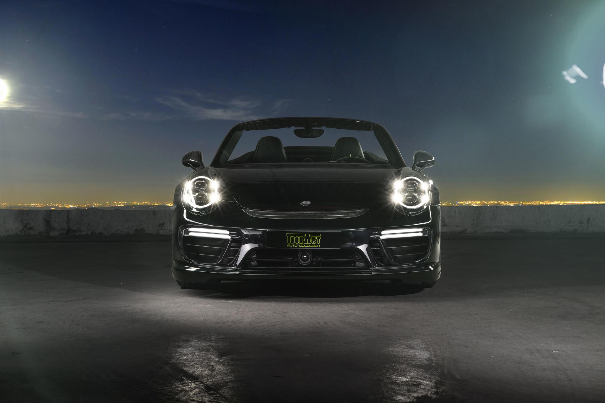 Techart Body kit for Porsche 911 Turbo