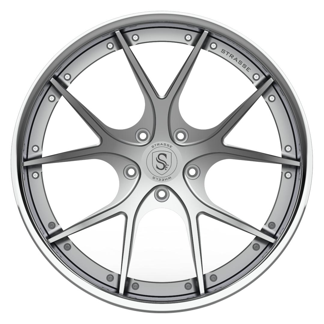 Strasse   SM5R DEEP CONCAVE 3 Piece Forged Wheels