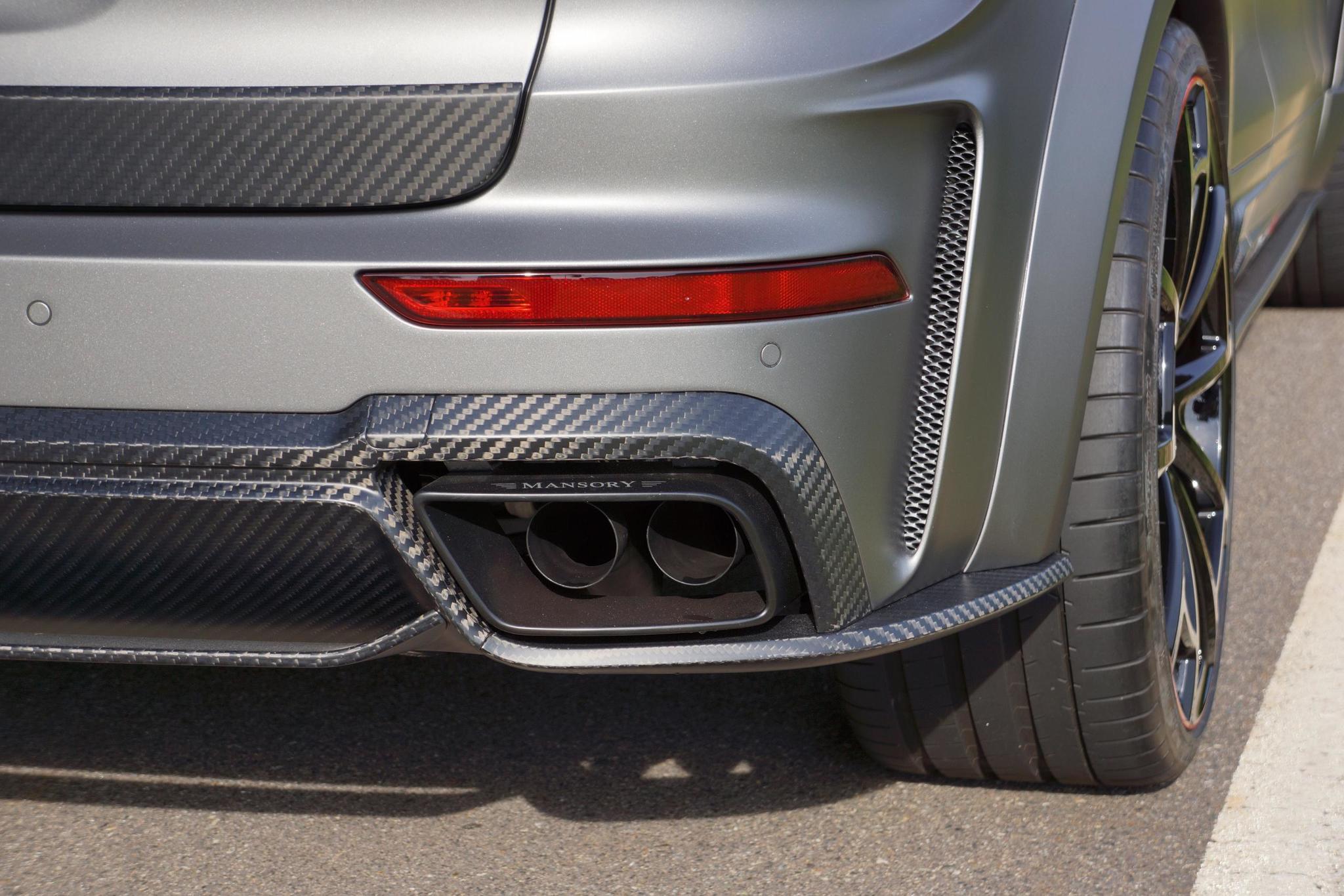 Mansory body kit for Porsche Cayenne latest model