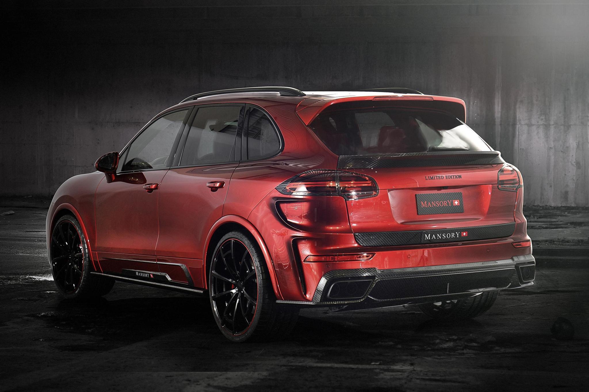 Mansory body kit for Porsche Cayenne new style