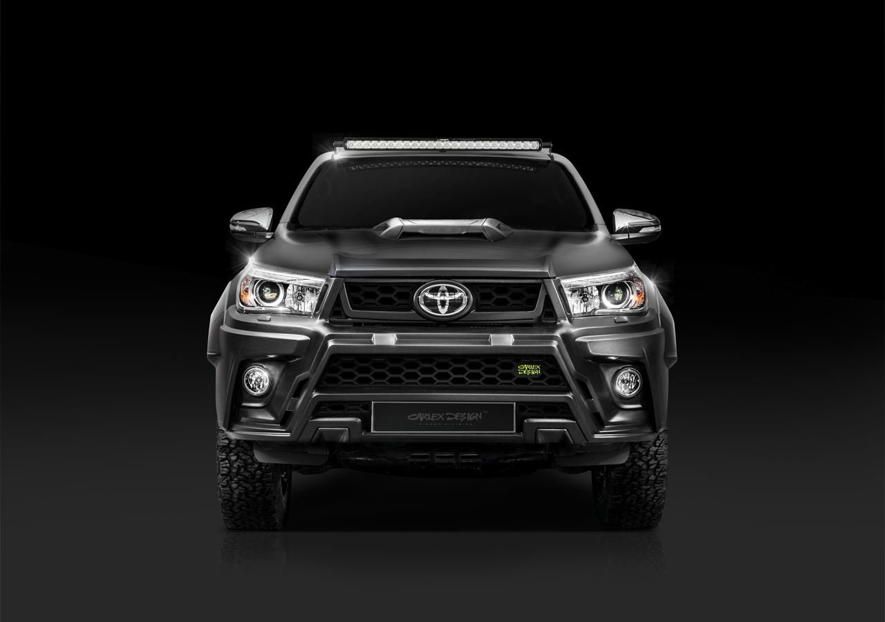 Carlex Design body kit for Toyota Hilux HILLY new style