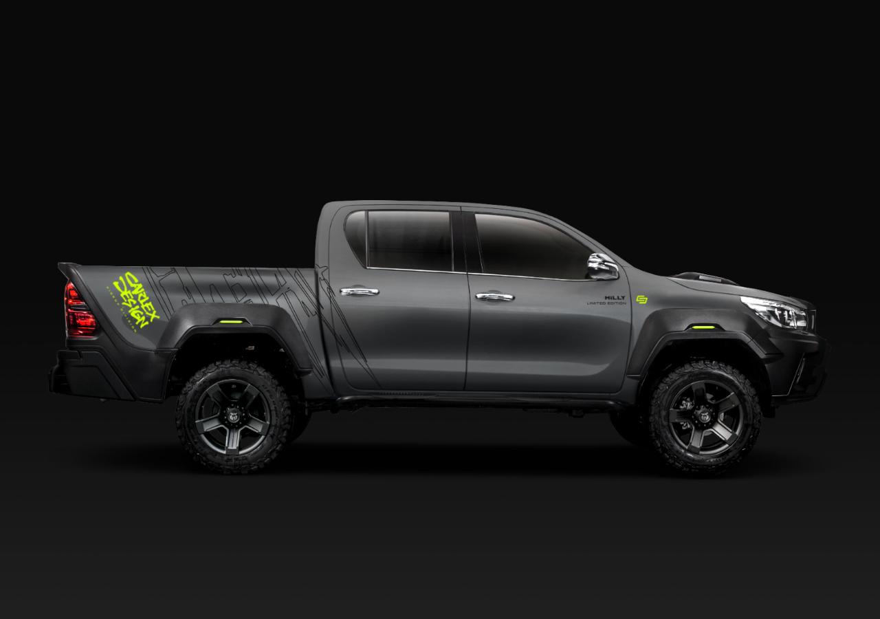 Carlex Design body kit for Toyota Hilux HILLY latest model