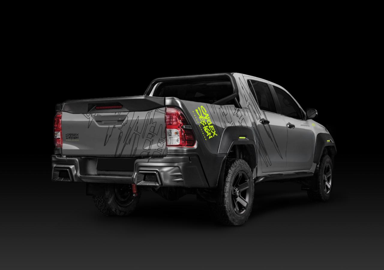 Carlex Design body kit for Toyota Hilux HILLY new design