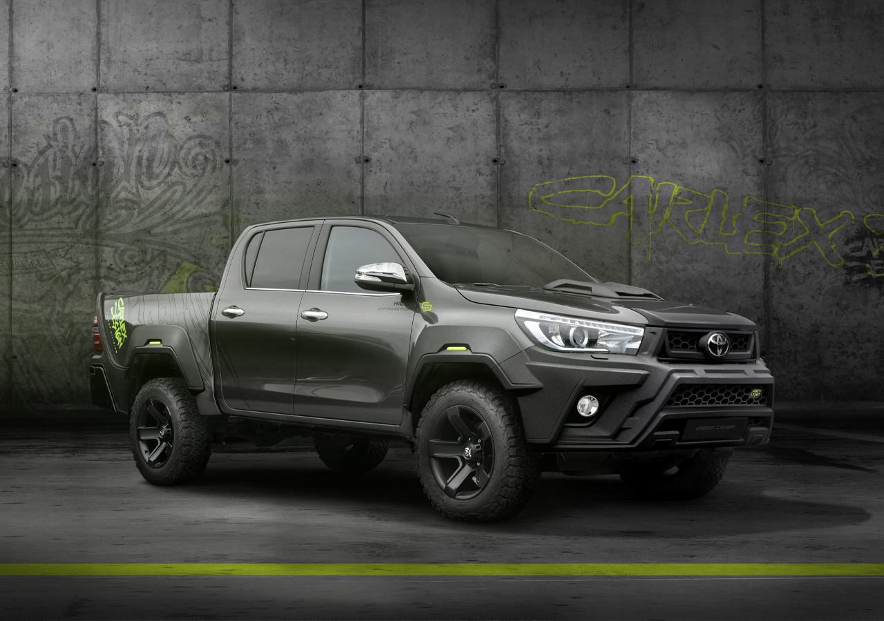 Carlex Design body kit for Toyota Hilux HILLY new model