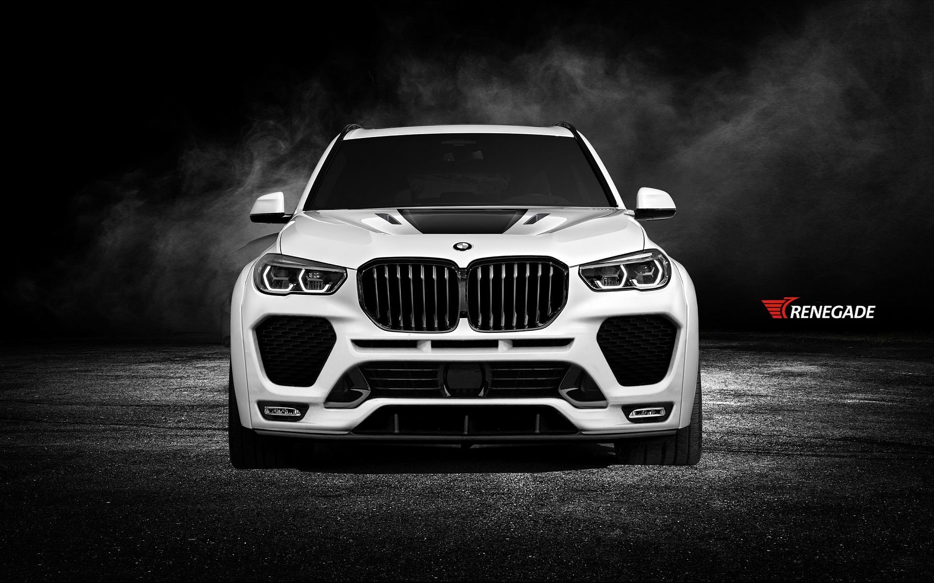 Renegade body kit for BMW X5 G05 carbon