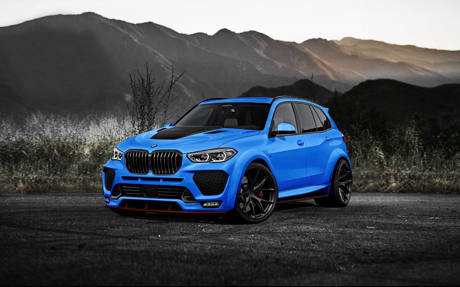Renegade body kit for BMW X5 G05 new model