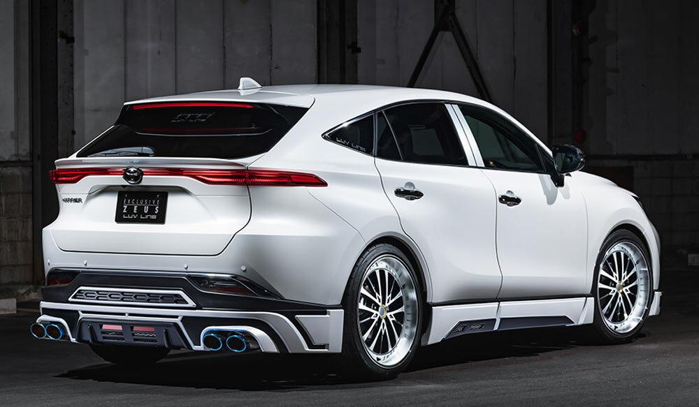M'z Speed body kit for Toyota Harrier new style