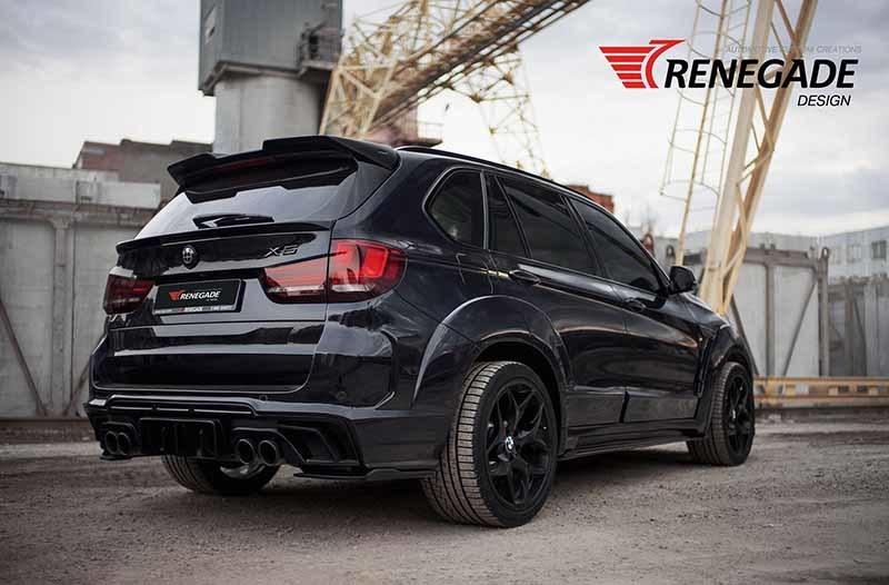 Renegade body kit for BMW X5 F15/F85 new model