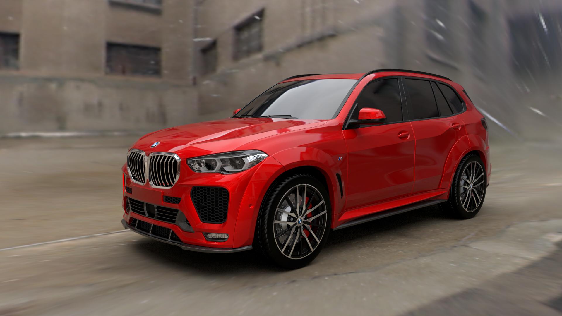 Renegade body kit for BMW X5 G05 latest model