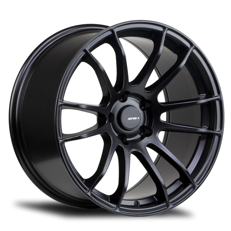 AVID1 AV.20 Matte Black light alloy wheels
