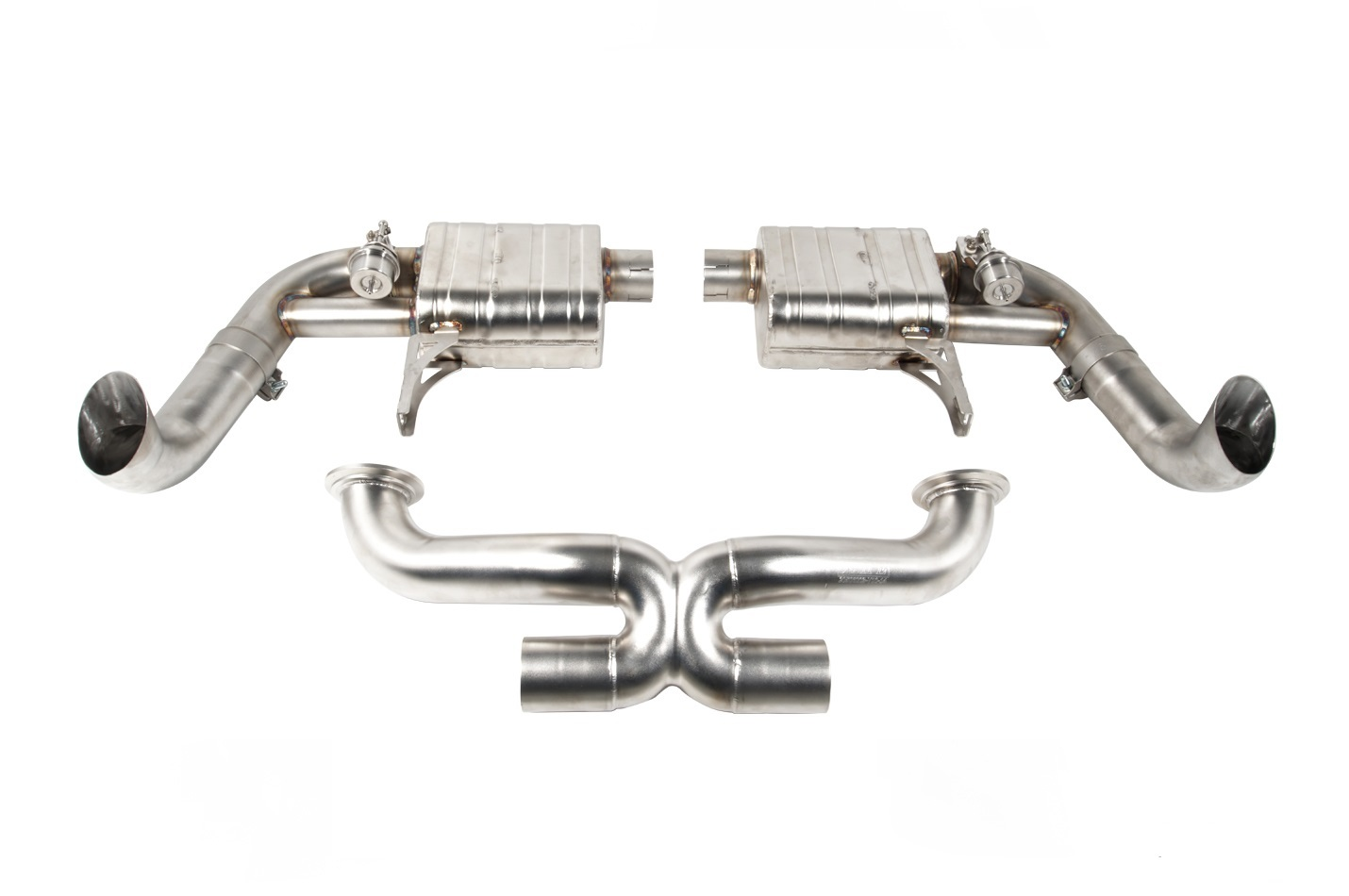 IPE exhaust system for Audi R8 RWD Coupe/Spyder 5.2FSI V10