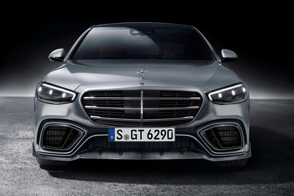 Hodoor Performance Carbon Fiber Bumper GT Design for Mercedes S-class W223