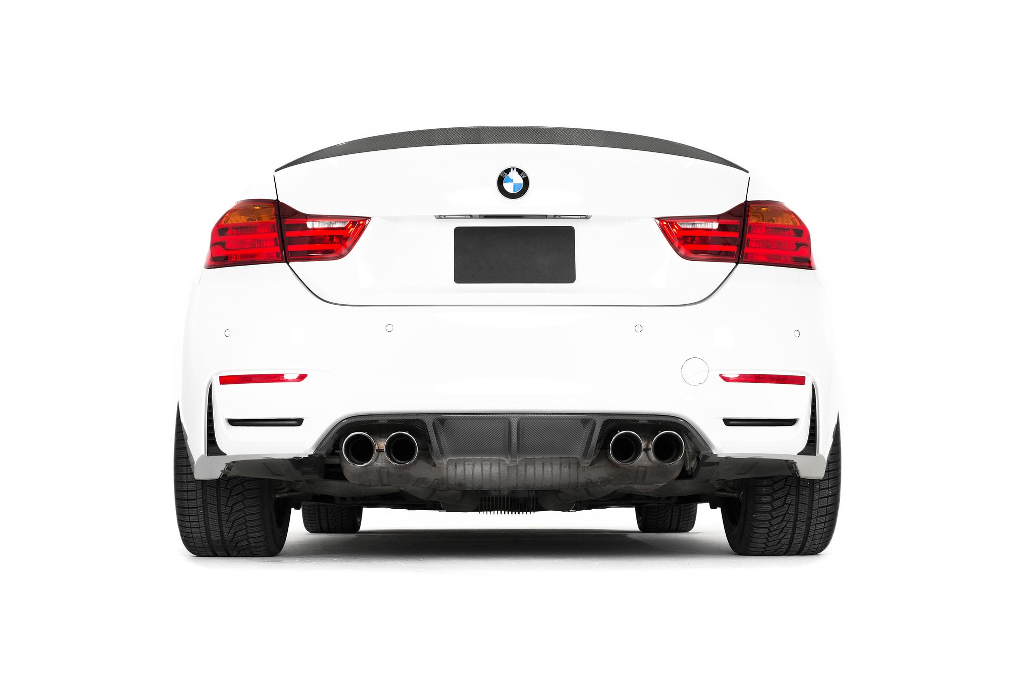 Sterckenn Carbon Fiber diffuser for BMW M4 F82 new model