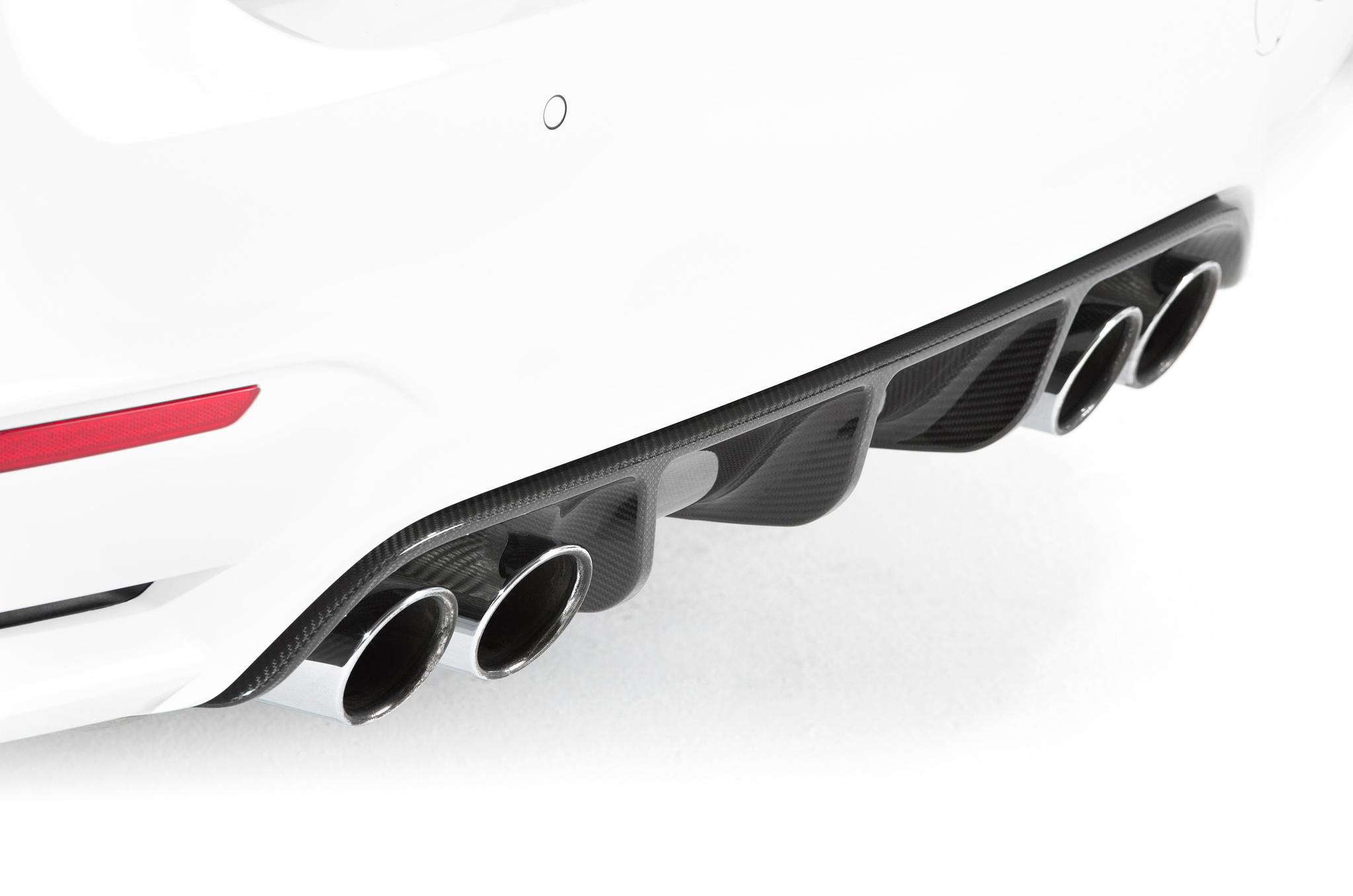 Sterckenn Carbon Fiber diffuser for BMW M4 F82 new style