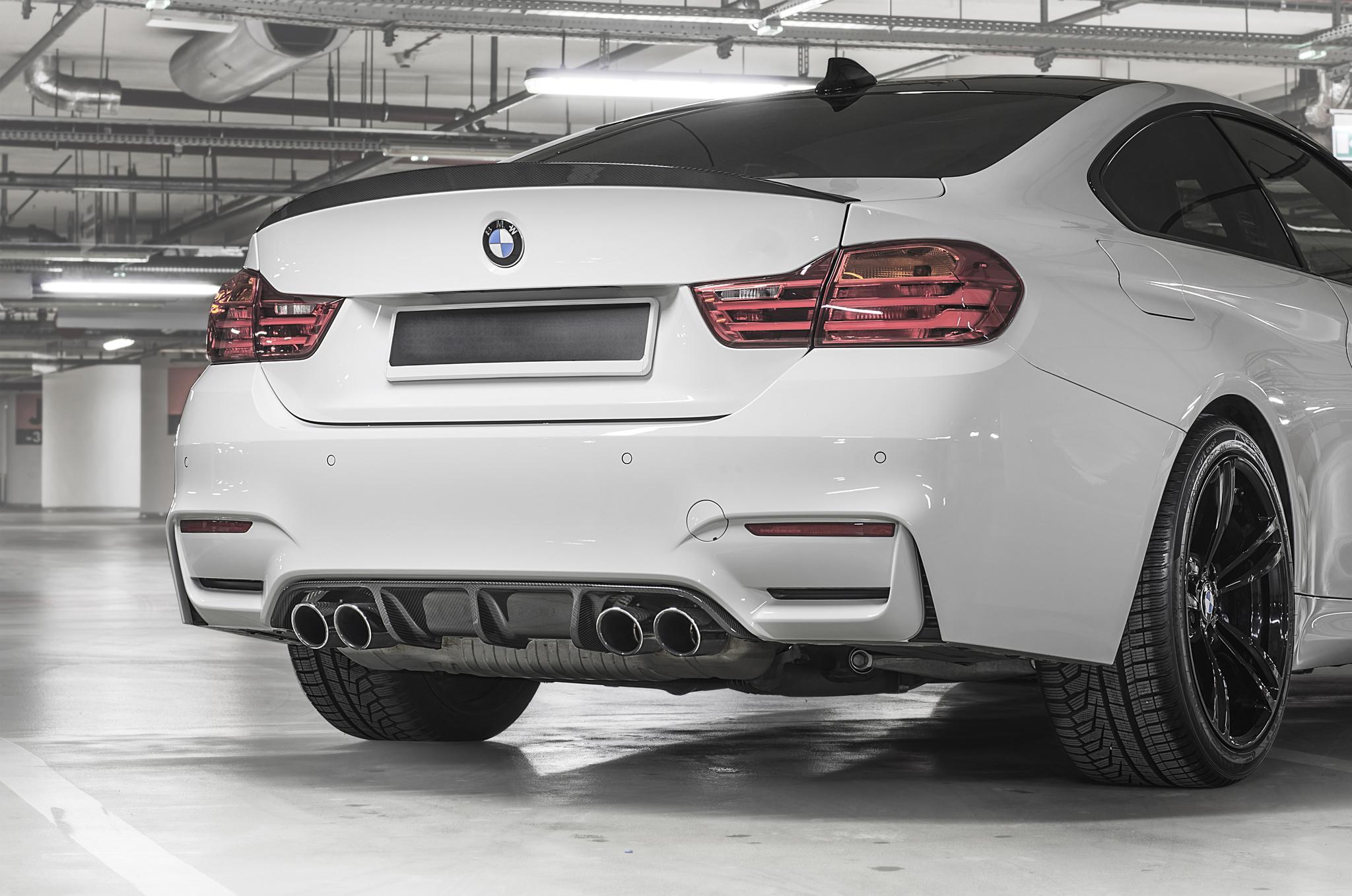 Sterckenn Carbon Fiber diffuser for BMW M4 F82 latest model