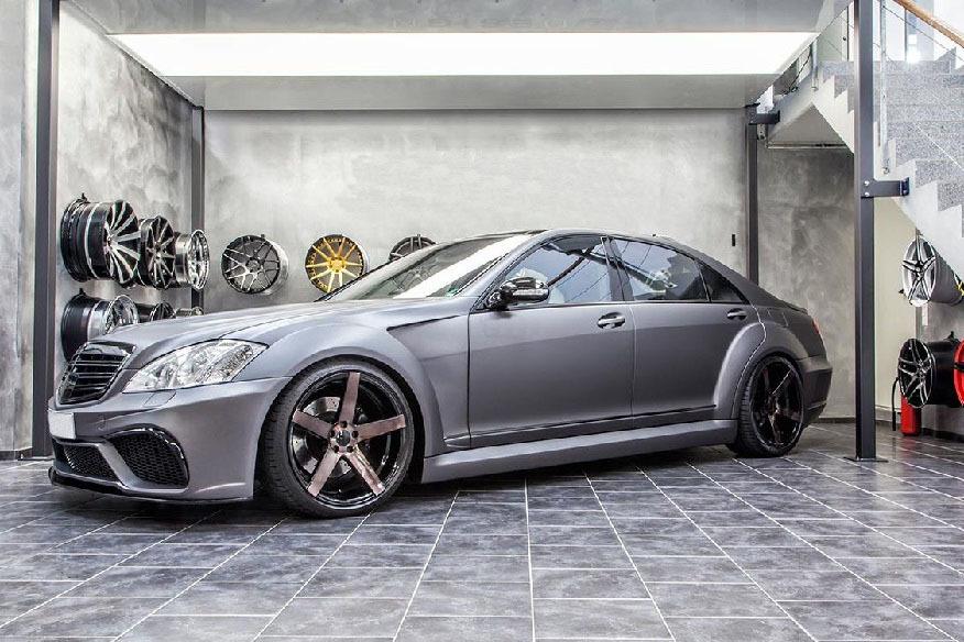 Prior Design PD Black Edition V3 body kit for Mercedes S-Klasse W221 new model