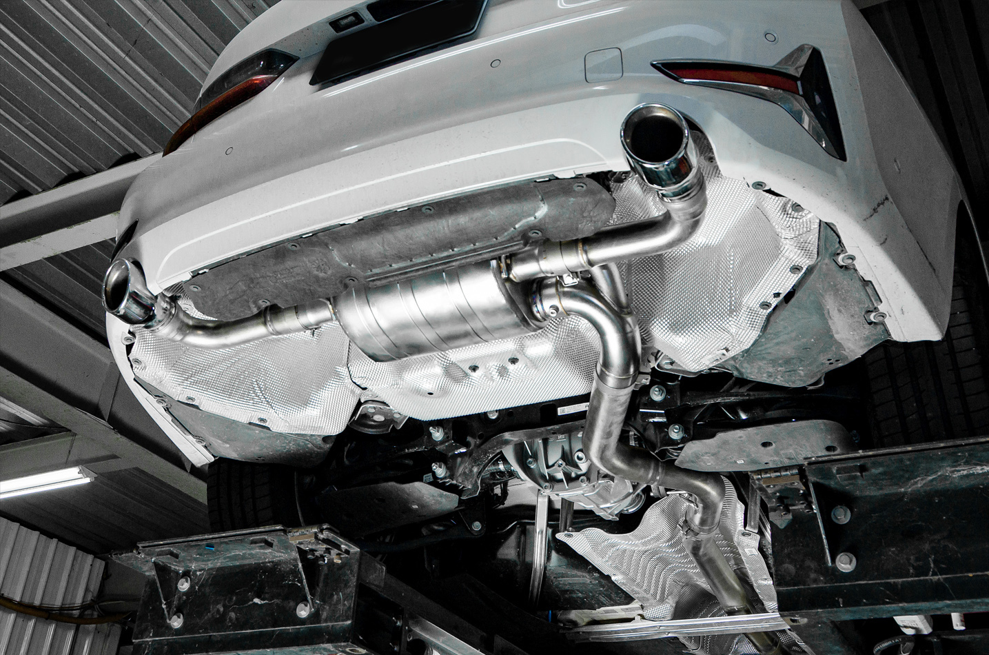 IPE exhaust system for BMW 320i/325i/330i B48 (G20/G21)