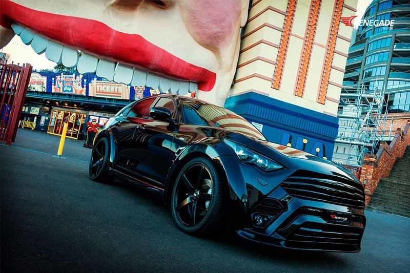 Renegade body kit for Infiniti QX70 (FX S51) new model