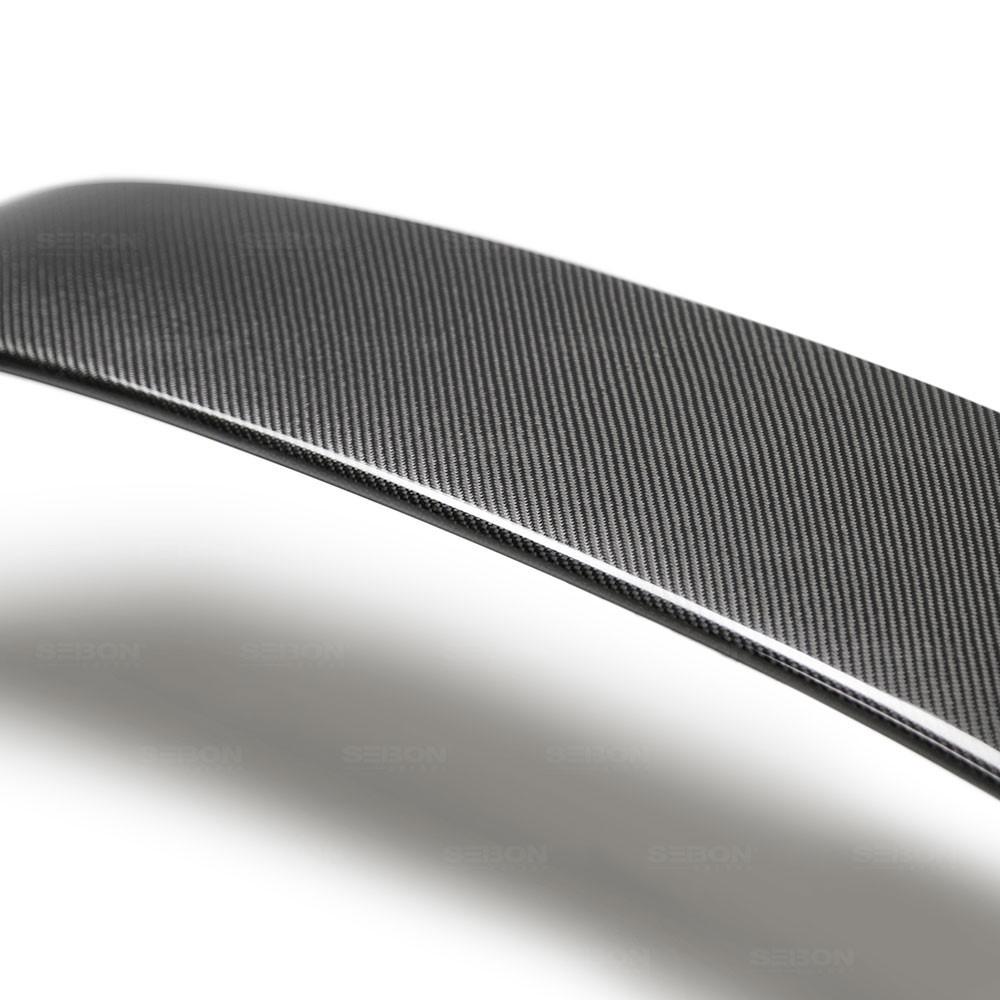 SEIBON MB-STYLE CARBON FIBER REAR SPOILER FOR  TOYOTA GR SUPRA latest model