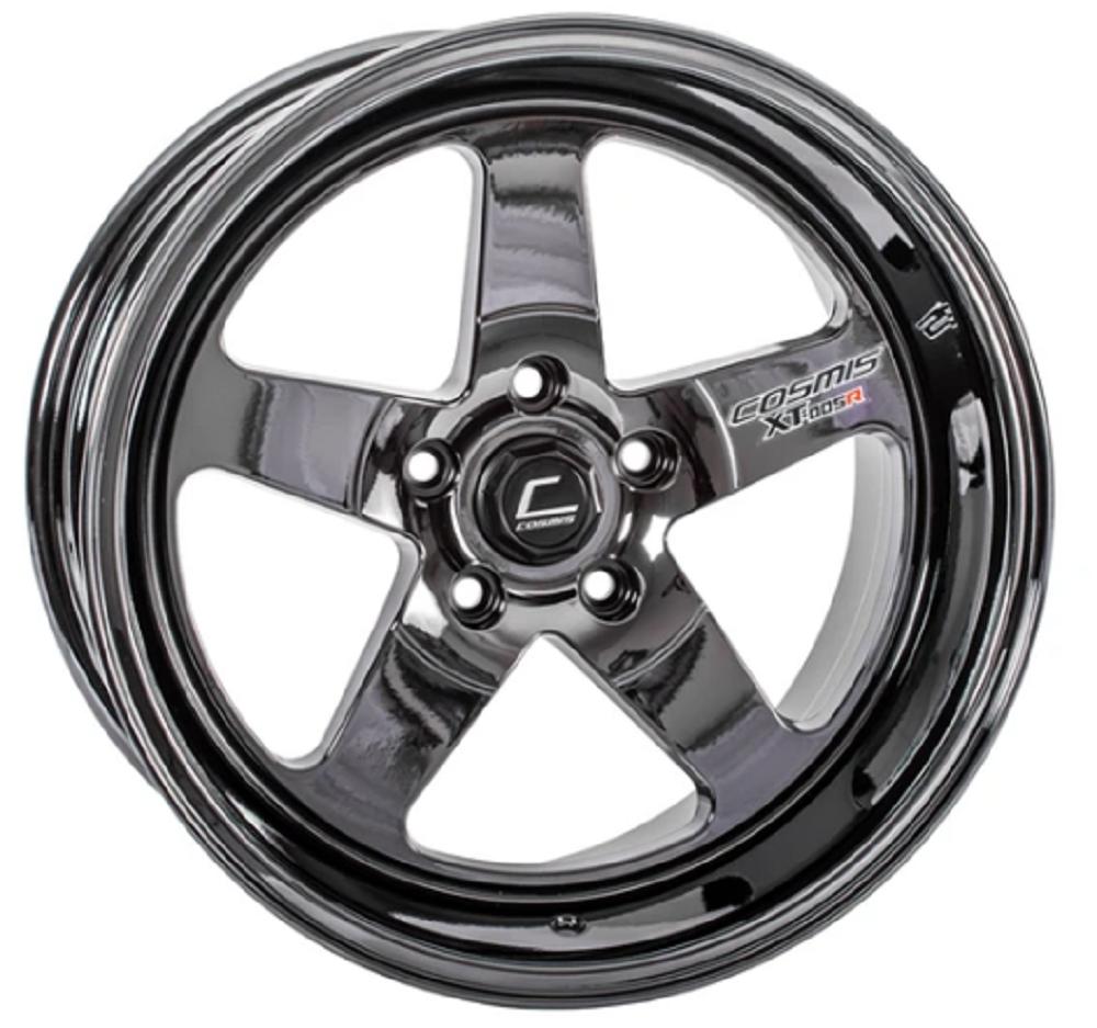 Cosmis ZT-005R Black Chrome forget wheels