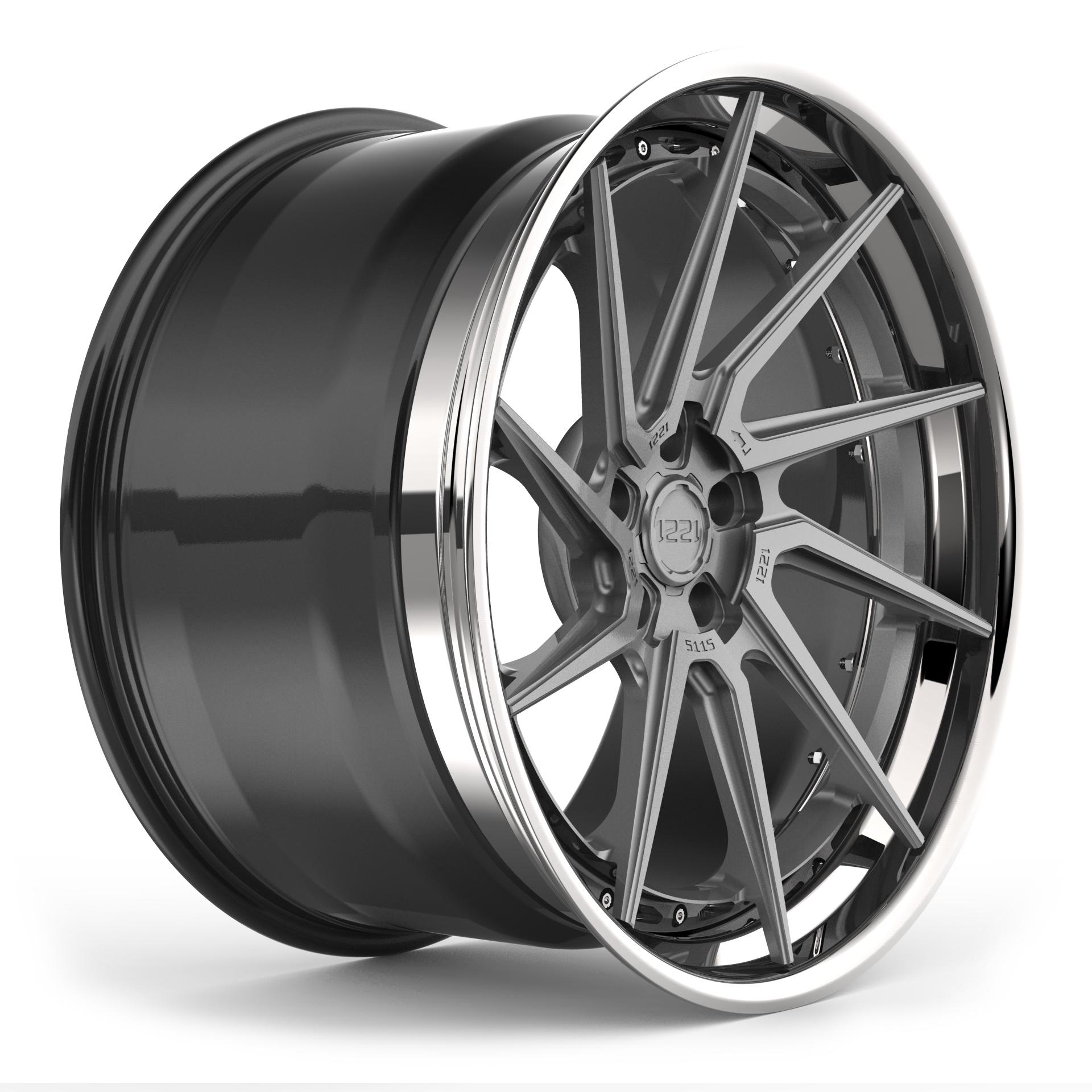 1221 Wheels R5115 AP3LX APEX3.0 forged wheels