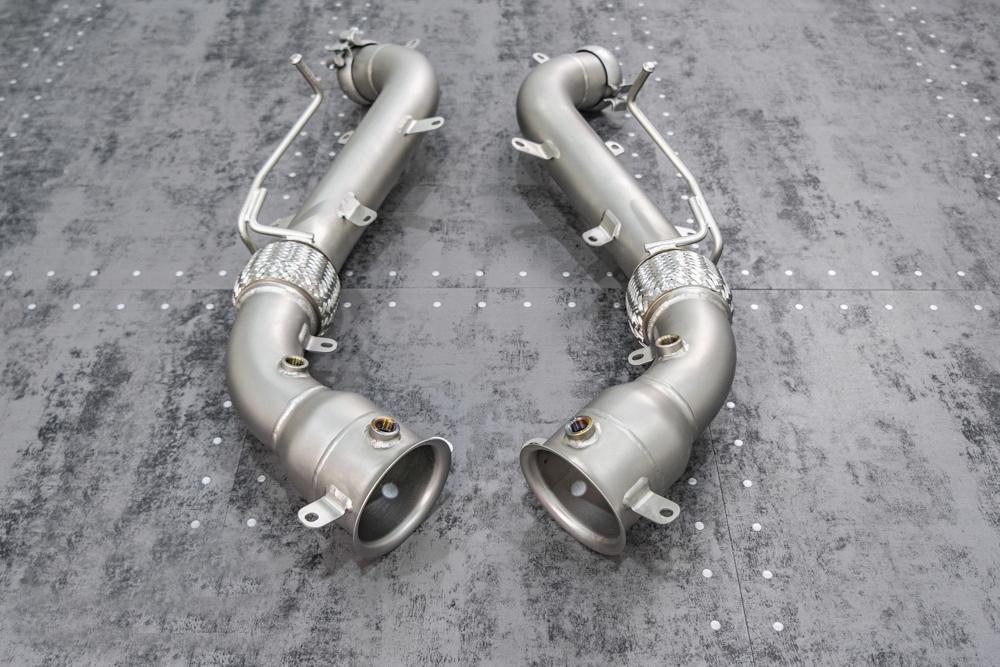 TNEER Exhaust Systems for McLaren 570S