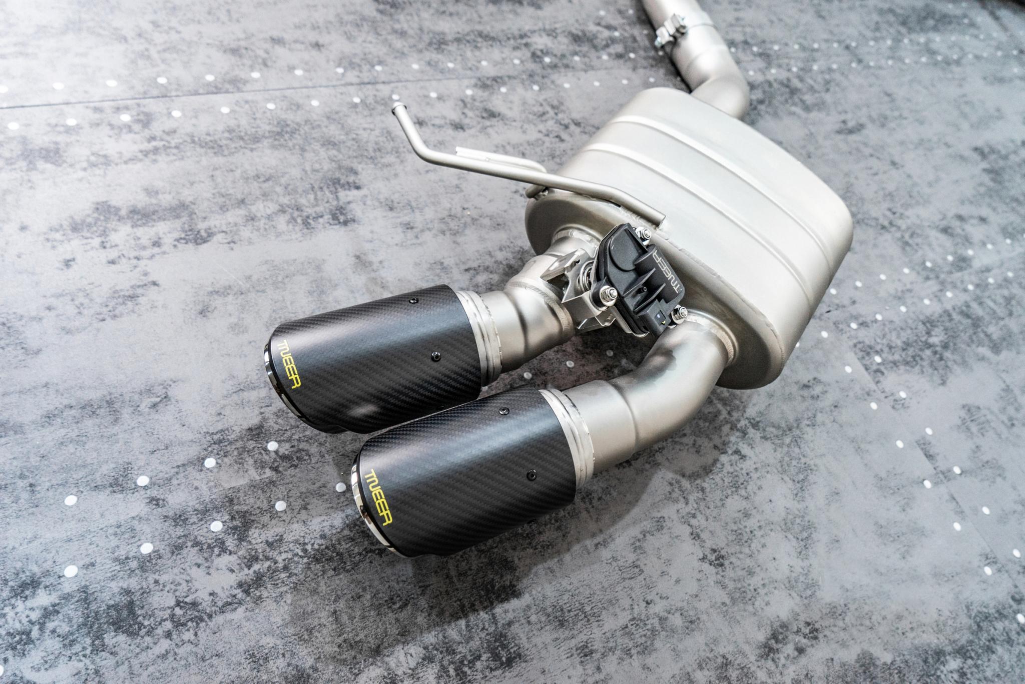 TNEER Exhaust Systems for PORSCHE Macan (95B Facelift )
