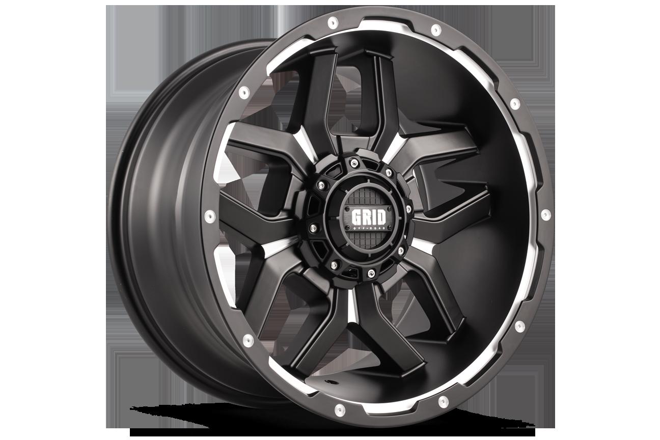 Grid Off-Road GD 07 light alloy wheels