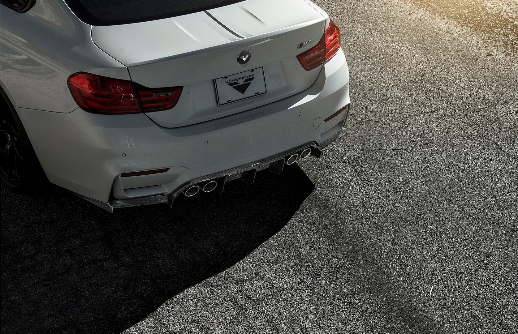 VORSTEINER STYLE CARBON  exhaust tips FOR BMW M3 NEW STYLE