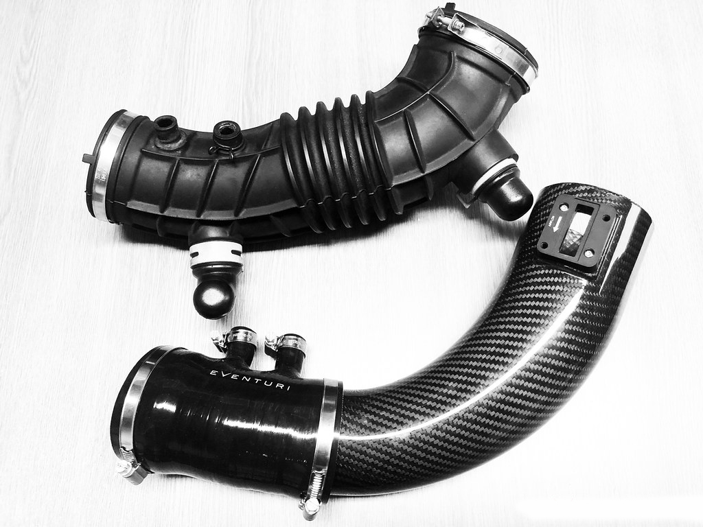 Eventuri Carbon fiber Intake systems for HONDA CIVIC FK2 TYPE R V2