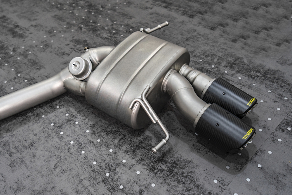 TNEER Exhaust Systems for MASERATI Gran Turismo