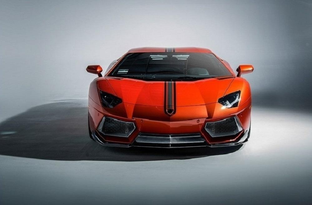 VORSTEINER STYLE CARBON one-piece splitter for Lamborghini Aventador new style