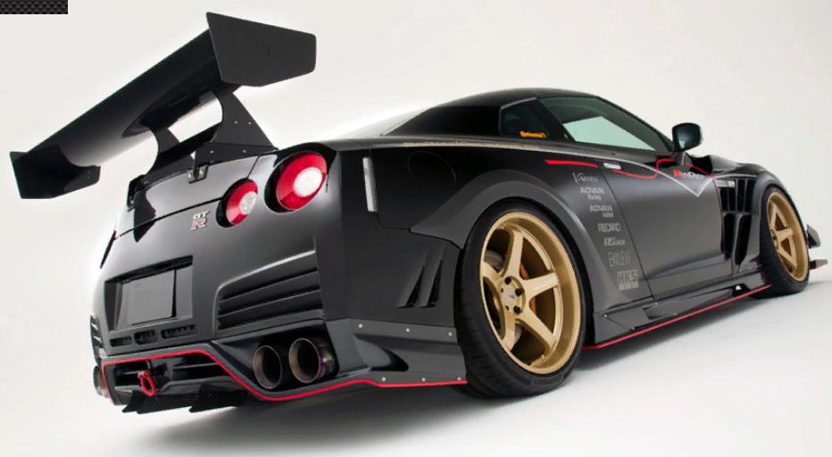 Varis Body Kit for NISSAN R35 GT-R Ultimate '17 carbon
