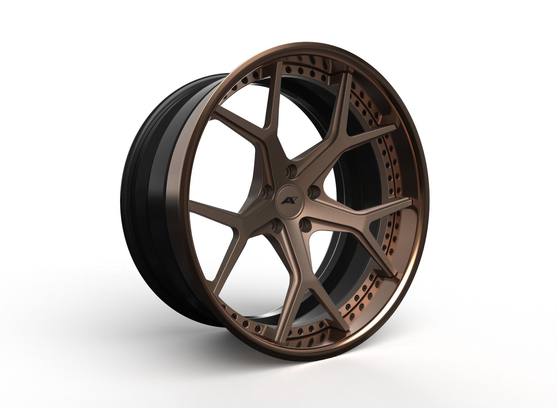 AMP Forged Wheels AMP 55-3P FLAT LIP