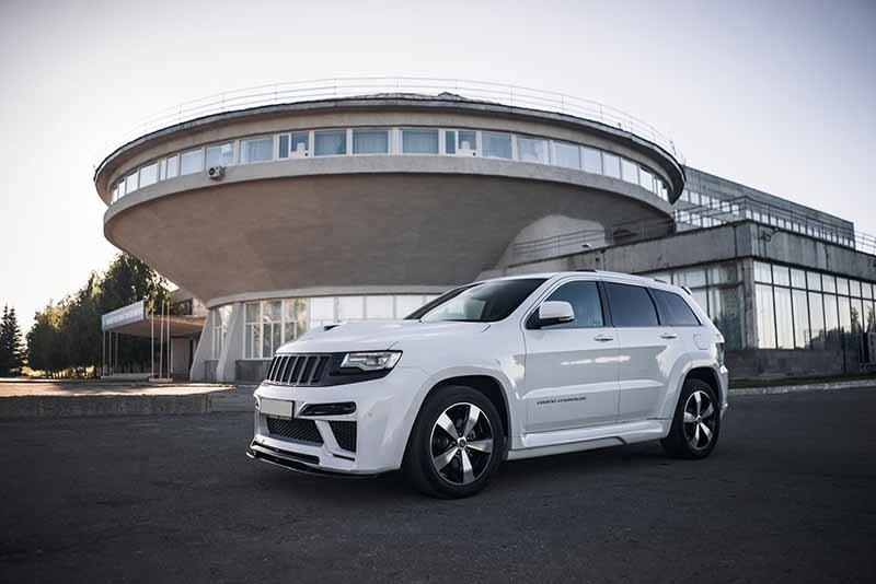Renegade body kit for Jeep Grand Cherokee WK2 2011/16 V1 new style