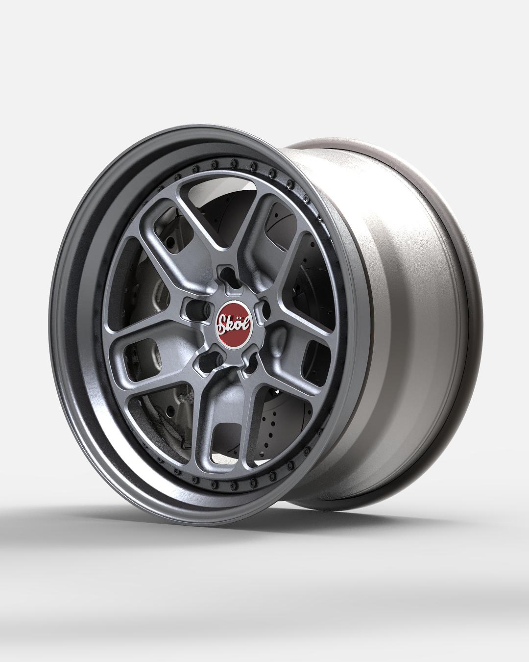SKÖL SK15 forged wheels