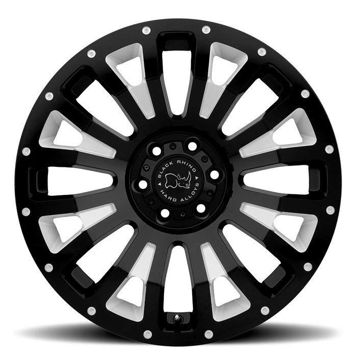 Black Rhino Pinatubo light alloy wheels