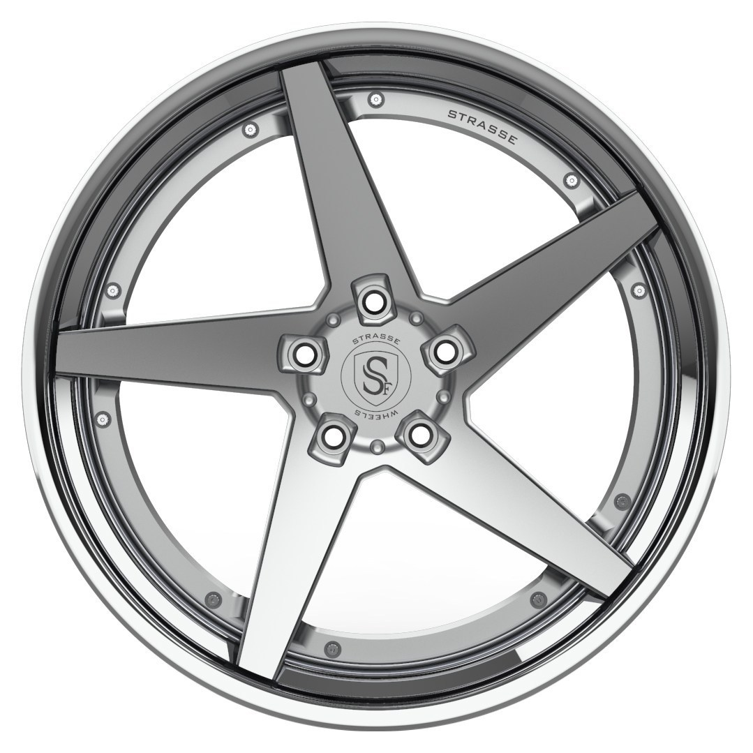 Strasse S5T DEEP CONCAVE FS 3 Piece Forged Wheels