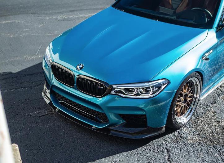 Hodoor Performance Carbon fiber lip 3D design BMW m5 f90