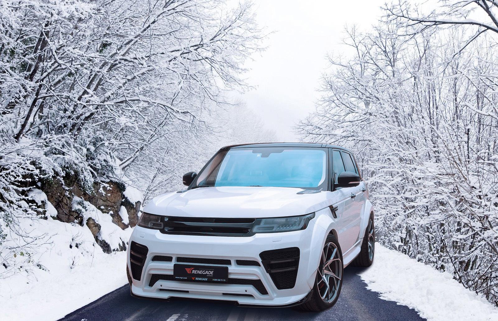 Renegade body kit for Range Rover Sport 2013/2018 latest model