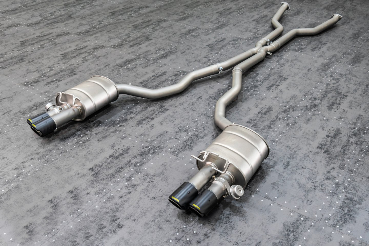 TNEER Exhaust Systems for BMW x M E63 M6