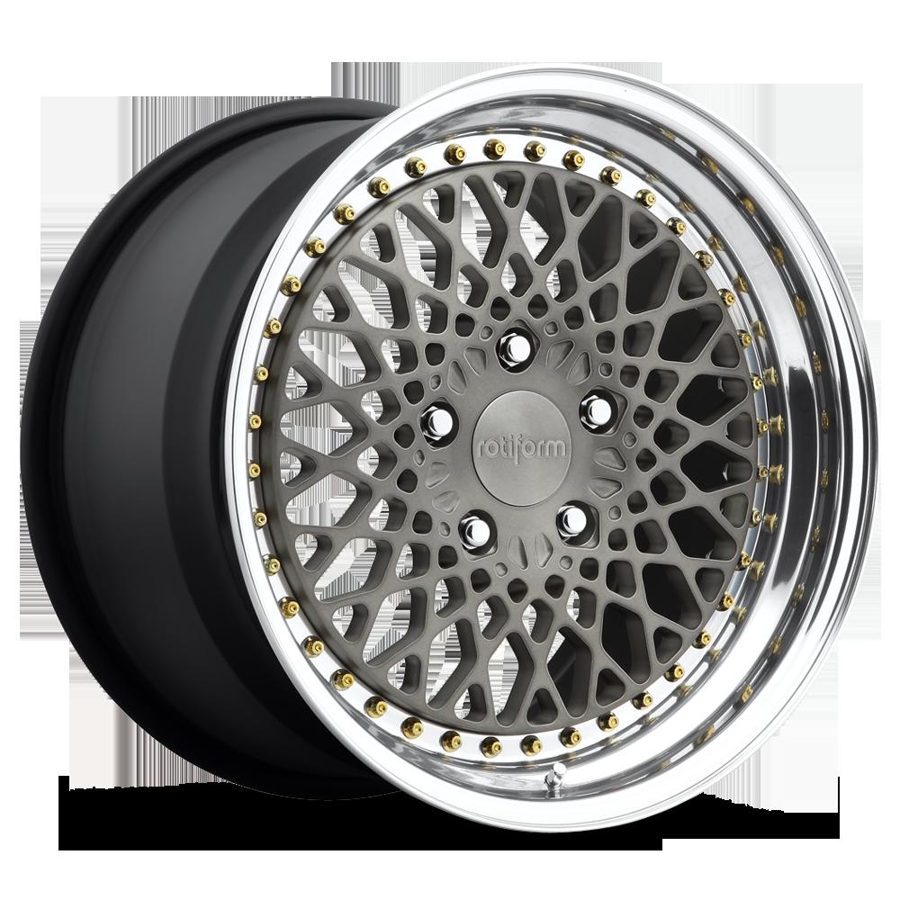 Rotiform LHR 3 piece forged wheels