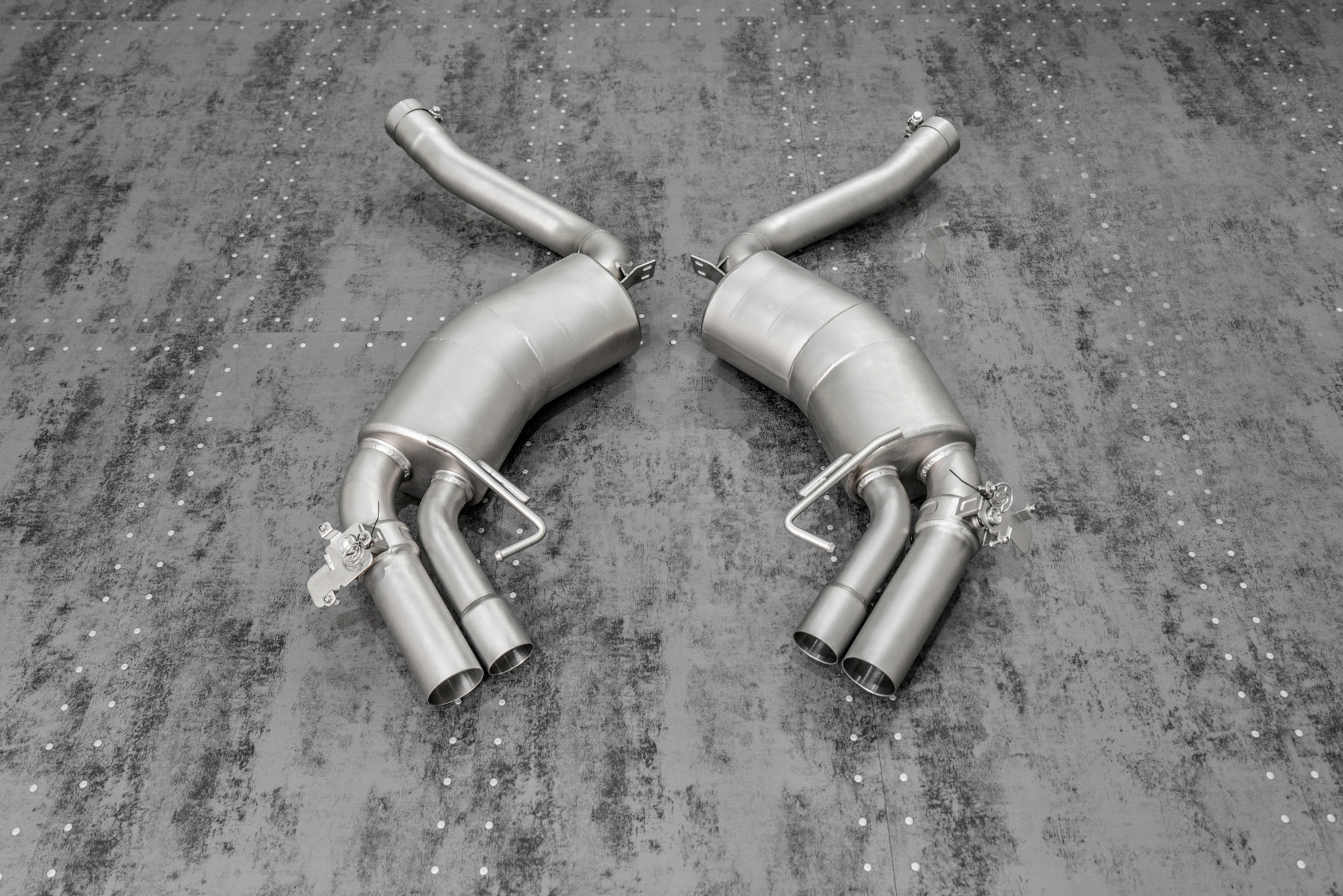 TNEER Exhaust Systems for MERCEDES-AMG C217 - S63 Coupe