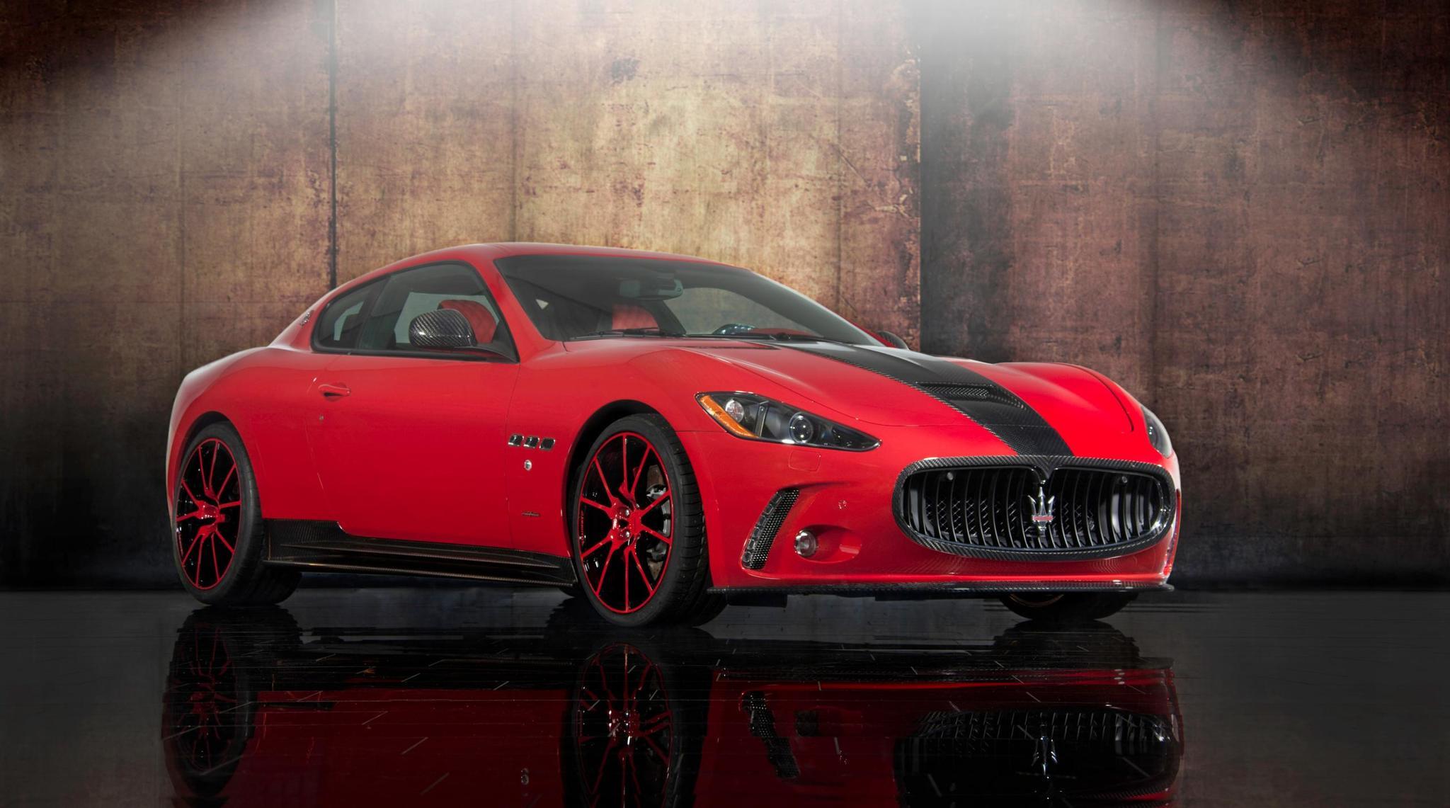 Mansory body kit for Maserati Gran Turismo new style